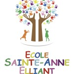 APEL Ecole Sainte-Anne Elliant - Logo - couleur - transparent - RVB