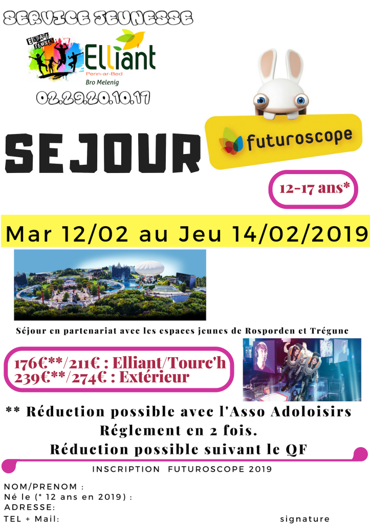 Futuroscope 2019