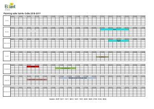 Planning salle Ste Odile 2018-2019