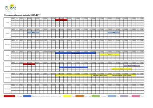 Planning salle polyvalente 2018-2019