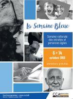 Du 8 au 14 octobre Semaine Bleue