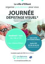 Journée de dépistage visuel le 7 juin