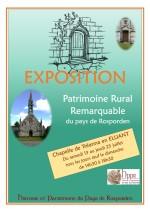 Exposition à la chapelle de Tréanna du 13 au 25 juillet