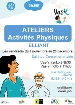 Ateliers d'activités physiques