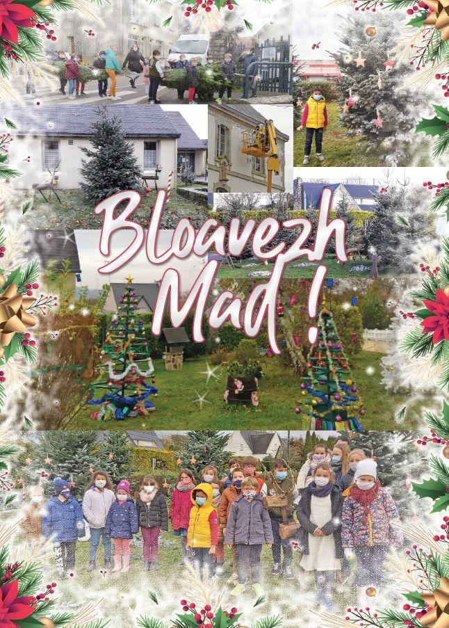 La municipalité vous souhaite une bonne année ! Bloavezh Mad !