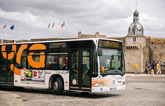 Coralie, le réseau de bus