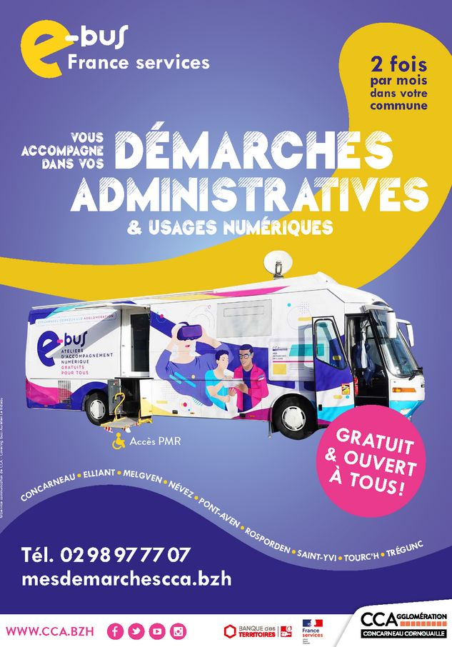 Lancement de l'e-bus France Services