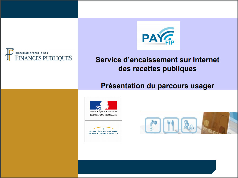 Parcours usager Payfip